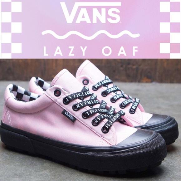 dd06dd6d4978 Vans X Lazy Oaf Style 29 Almond Blossom 9.5